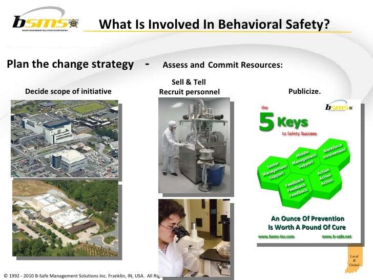 Creating a Behavioral Safety Process Slide 3