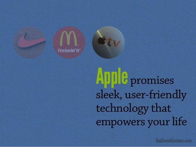 Applepromises sleek, user-friendly technology that empowers your life BigBrandSystem.com
