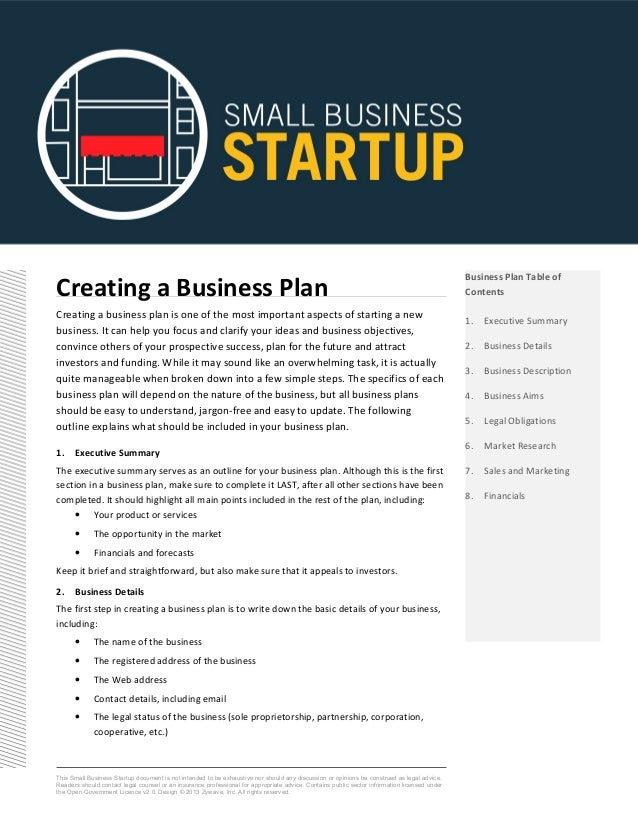 creating business plan Create a business plan with step-by-step instructions business plans can help you get funding, enter business partnerships, and more.