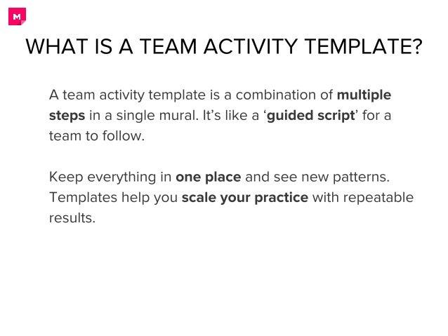 Creating Team Activity Template in MURAL Slide 2