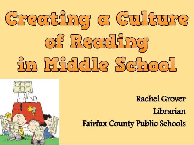 Rachel Grover Librarian Fairfax County Public Schools