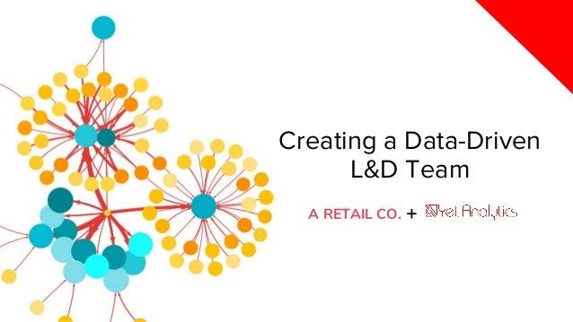 Creating a Data-Driven L&D Team +A RETAIL CO.