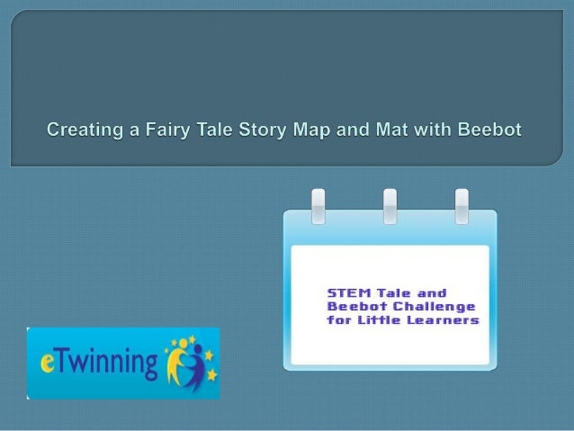 Creating a fairy tale story map and mat with Beebot