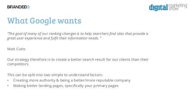The Digital Marketing Show 2013: Creating a future proof mobile seo strategy - Patrick Altoft Slide 3