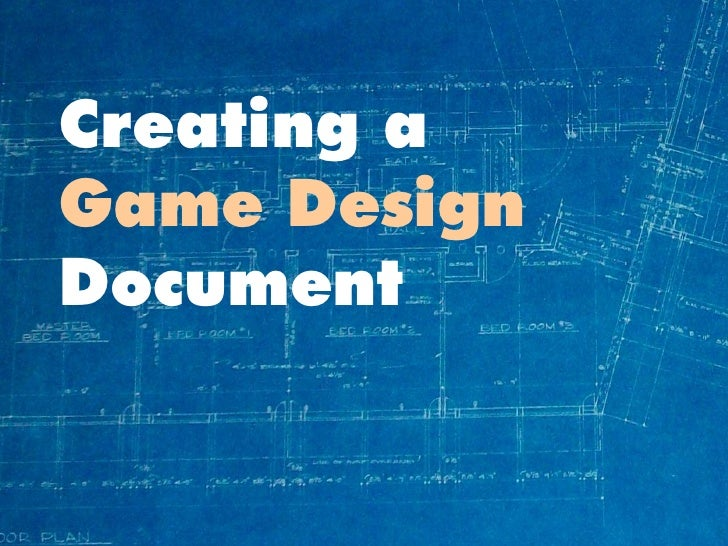 Making A Game Design Document