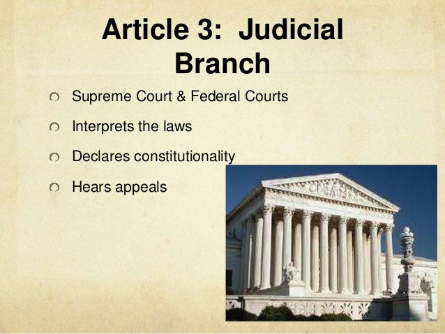 news post judicial branch