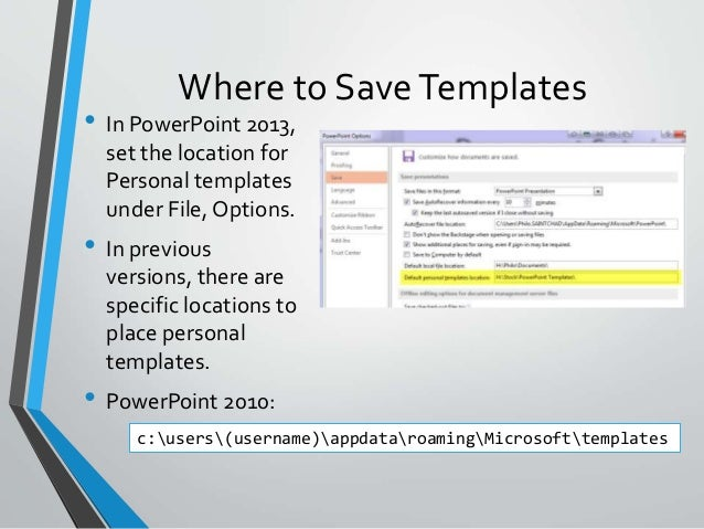 creating a great powerpoint template, Modern powerpoint