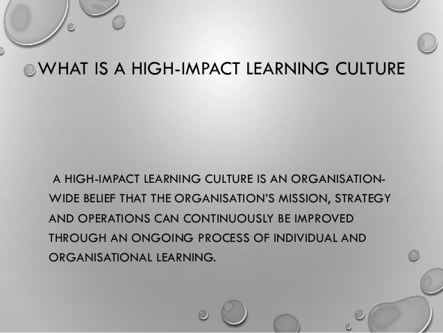 effects of culture on learning and Culture-neutral instructional design  and it pervades culture learning is embedded in  designer be immune to the effects of culture.