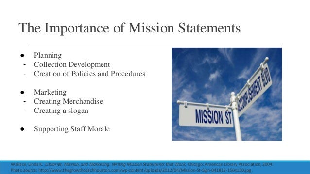 Great 19. The Importance Of Mission Statements ...