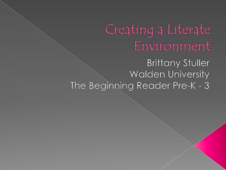  We are all shaped by our literacy experiences  throughout of lives; our literacy biographies. When getting to know my s...