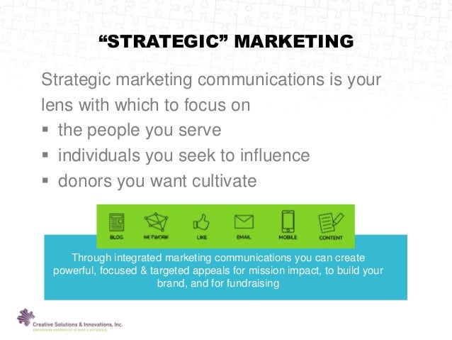 Creating a marketing_communications_plan Slide 3