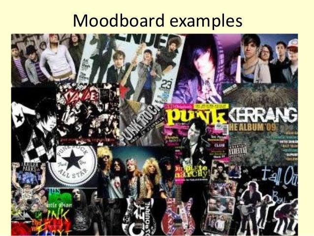 Creating a moodboard