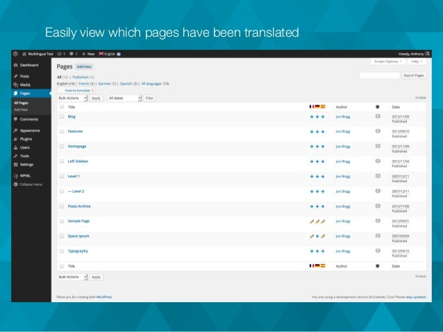 how to add translation in wpml