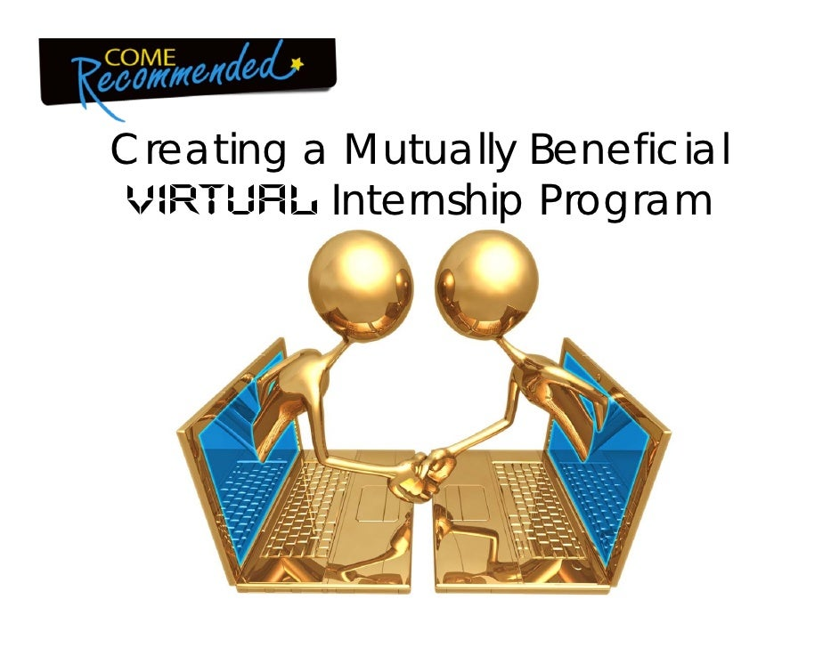 Creating a Mutually Beneficial Virtual Internship Program<br />