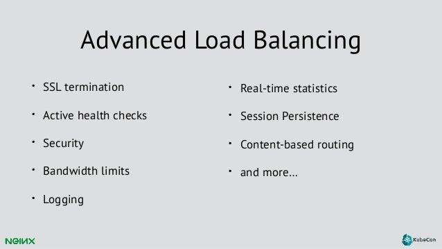 KubeCon EU 2016: Creating an Advanced Load Balancing Solution for Kub…