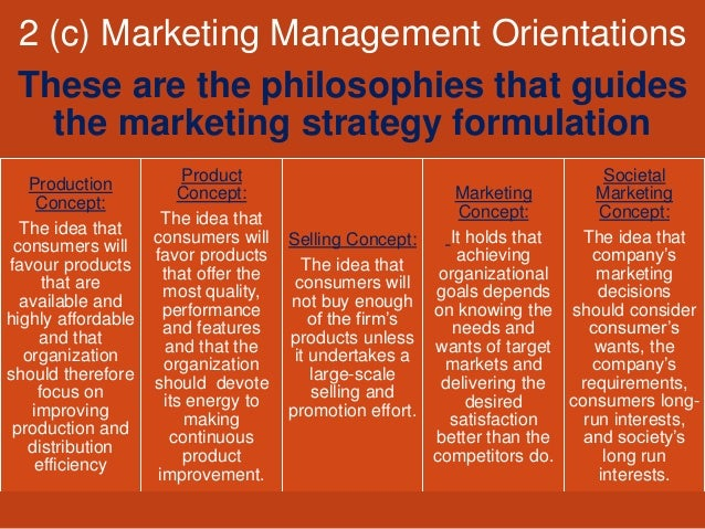 Marketing management orientations pdf to excel