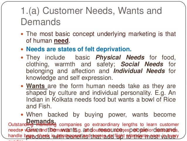 needs wants demands Definition of needs and wants:  you should always be able to separate your needs and wants and do your best to prioritize the needs over the wants.