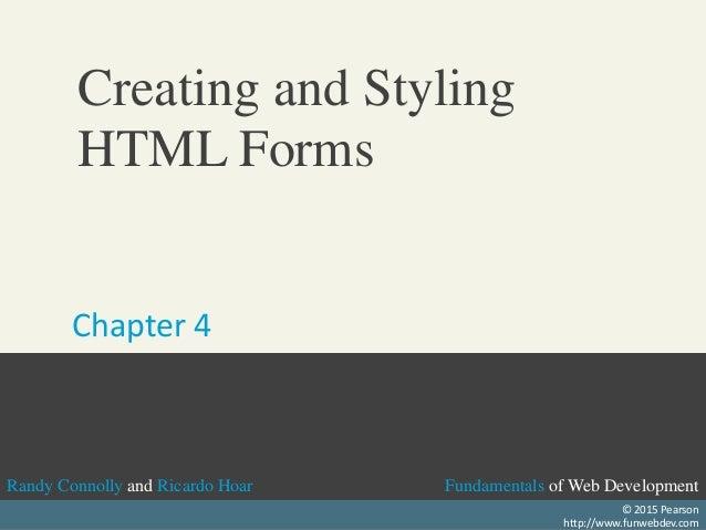 Fundamentals of Web DevelopmentRandy Connolly and Ricardo Hoar Fundamentals of Web DevelopmentRandy Connolly and Ricardo H...