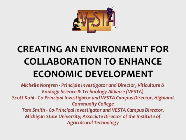Michelle Norgren - Principle Investigator and Director, Viticulture & Enology Science & Technology Alliance (VESTA) Scott ...
