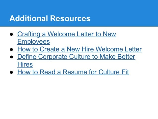 Create a New Hire Welcome Message to Inspire Enthusiasm and Drive Eng…