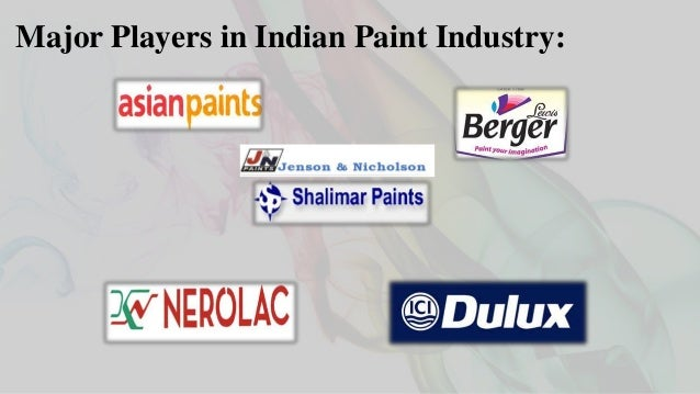 major players in indian paint industry - Paint Brand Names