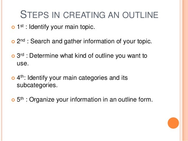 creating an essay outline Writing an outline is an important step to create a good reflective essay: it would help you keep organization and finish your task faster.