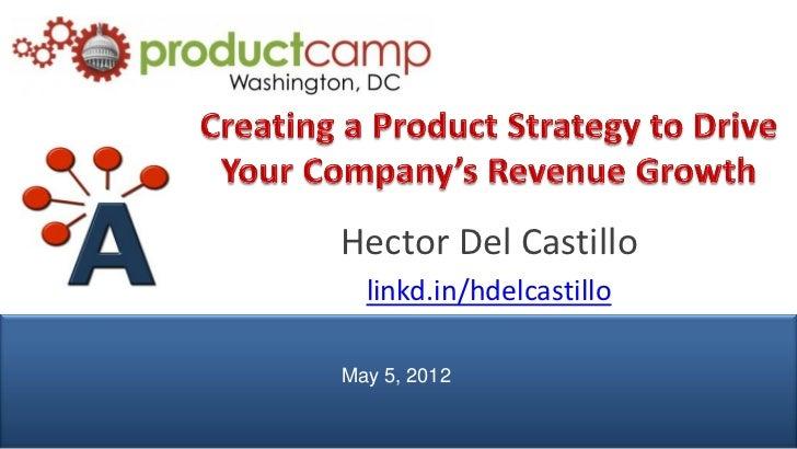 Hector Del Castillo                 linkd.in/hdelcastillo               May 5, 2012© AIPMM 2012