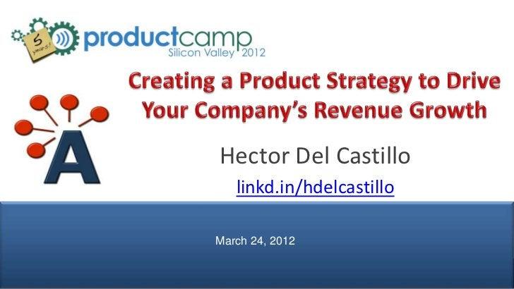 Hector Del Castillo                  linkd.in/hdelcastillo               March 24, 2012© AIPMM 2012