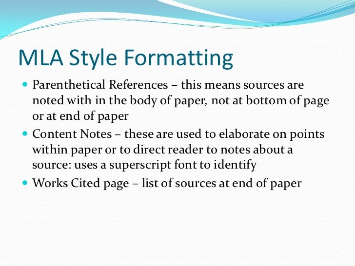 mla research paper citing sources This guide provides information on citing sources for research papers.