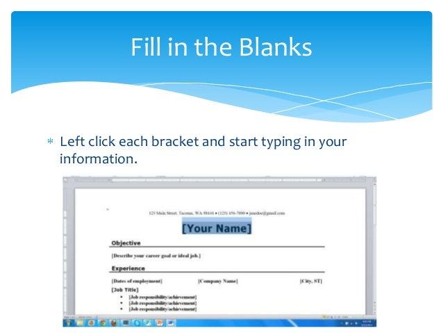 Create Resume Using Microsoft Word 2010 Vosvetenet – Resume Format Microsoft Word 2010