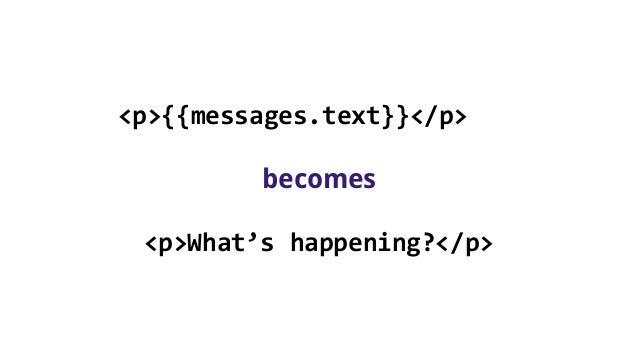 Creating a server side web app