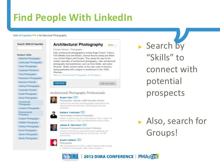 Find People With LinkedIn                                                                     ►   Search by               ...