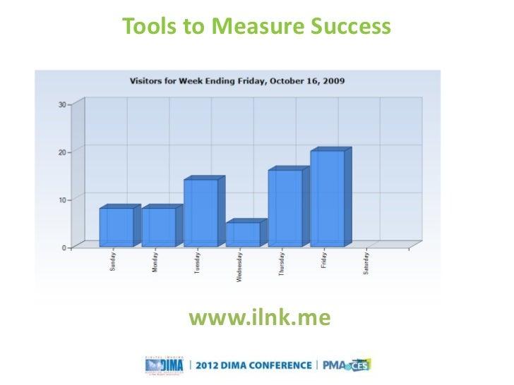 Tools to Measure Success                       www.ilnk.me                                                             Que...