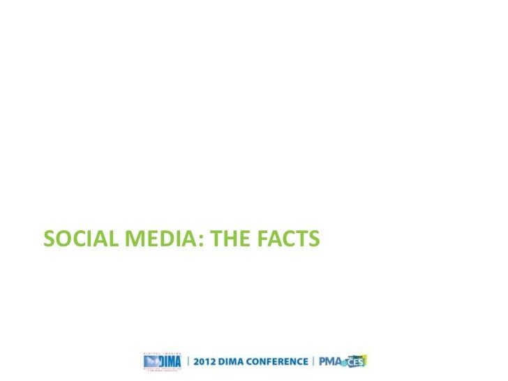 SOCIAL MEDIA: THE FACTS                                                                   Questions or Comments?       Cop...