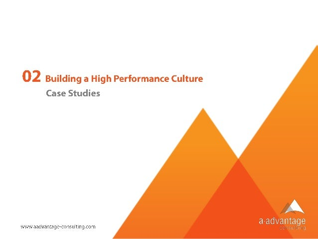 creating a high performance values aligned culture A high-performing it organization has a culture that i call purposeful  i began  developing shared values and attempting to create a purposeful.