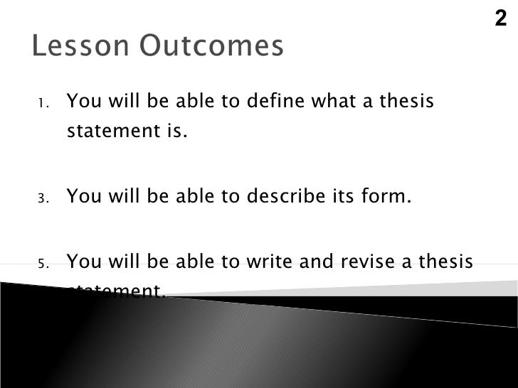forming a thesis statement Thesis statements always take a stand and justify further discussion in order to make your writing interesting, you should develop a thesis statement that is arguable.