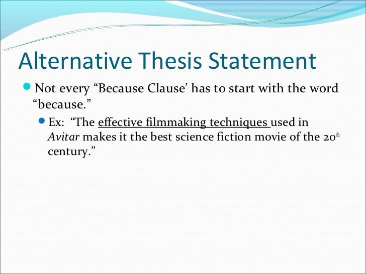 What Is a Concession in a Thesis Statement?