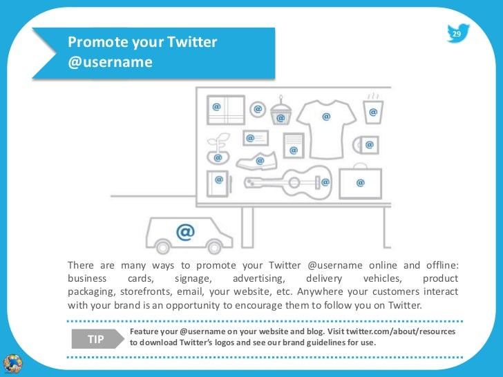 creating a twitter account for your business