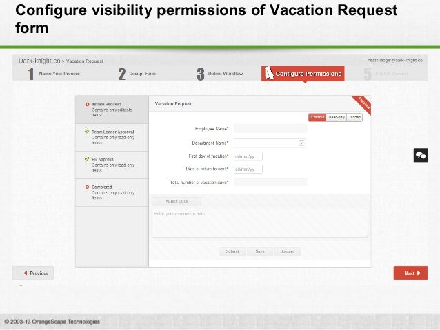 Creating A Vacation Request Workflow For Google Apps