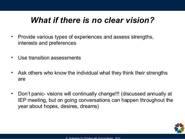 Visions Of Community 2015 Federation >> Creating A Post Secondary Vision