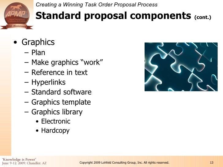 13 standard proposal