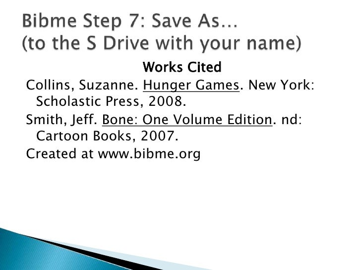 BIBME - A free online citation tool. Use it in three steps ... |Bibme Works Cited