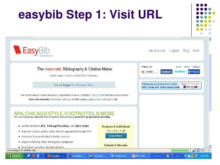 EasyBib Add-In for Office 365