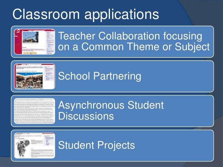 Collaborative Classroom App : Creating collaborative classroom learning environments