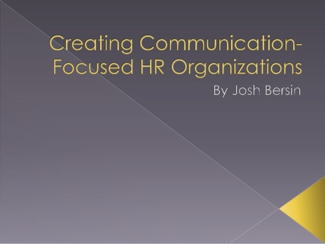  Based in Oakland, California, Josh Bersin  guides the human resources and talent  acquisition firm Bersin by Deloitte (f...