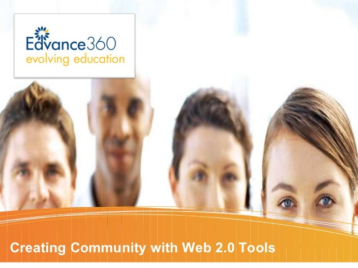 Creating Community with Web 2.0 Tools