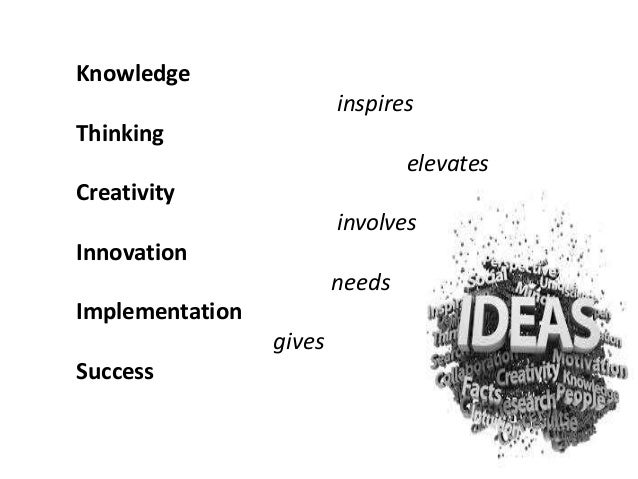 Creating culture for innovation and creativity