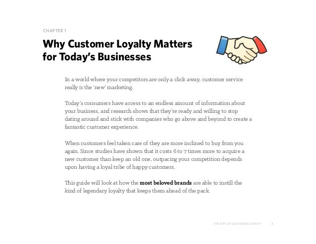 The Art of Customer Loyalty Slide 3