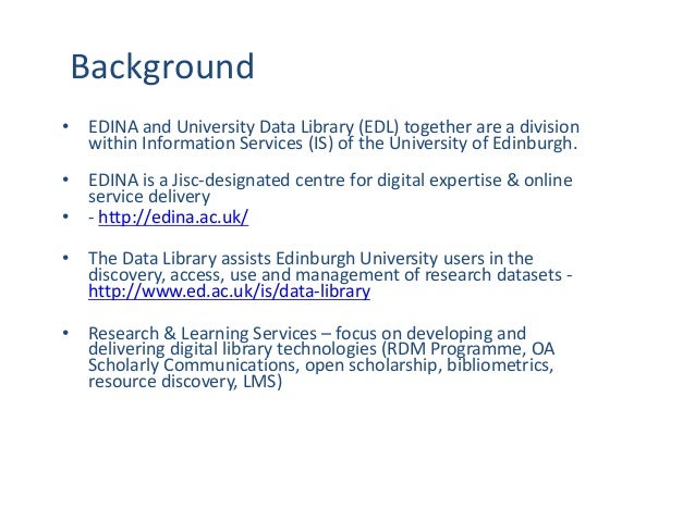 Creating a Data Management Plan for your Grant Application Slide 3