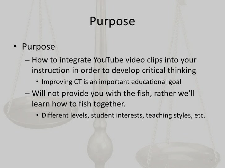 critical thinking video clips Critical thinking videos developmental psychology september 16, 2018 writing a college research paper #environmental science topics for research paper.